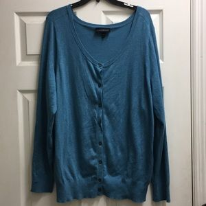 Land Bryant Blue Cardigan 18/20